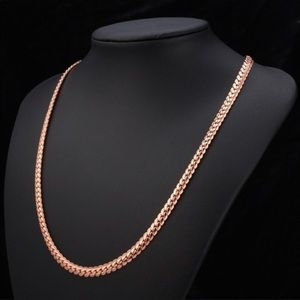 Jewelry - 18k Rose Gold Plated Necklace